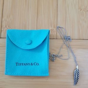 Tiffany & Co Nature Leaf Necklace